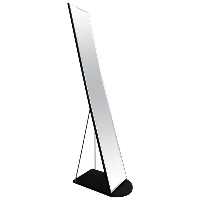 Postmodern Sleek Freestanding Floor Mirror