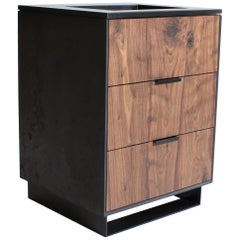 Hanks Modern Concrete Bathroom Vanity Cabinet and Sink