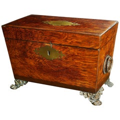 19th Century Regency Tea Caddy from Westminster Hall Roof
