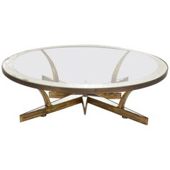 Mid-Century Modern Start Coffee, Cocktail Table Attributed to Arturo Pani
