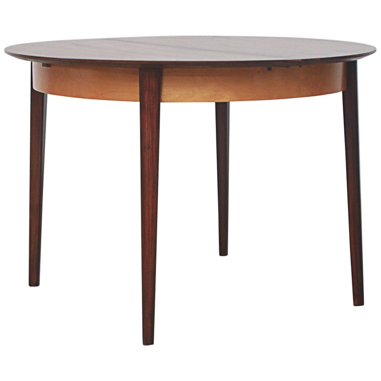 Cees Braakman for Pastoe Round Teak Dining Table For Sale