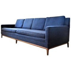Mid-Century Modern Elongated Form Sofa Attributed to T.H. Robsjohn, Gibbings