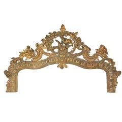 Victorian Rococo Giltwood Top