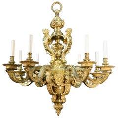Antique Chandelier, Louis XIV Style