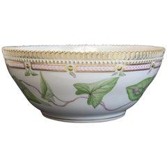 Stunning Royal Copenhagen Porcelain Centrepiece Bowl in Flora Danica 20/3555