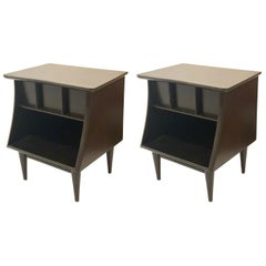 Pair of Mid-Century Modern Nightstands by Kent Coffey