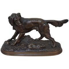 Jules Moigniez, Bronze Hunting Dog
