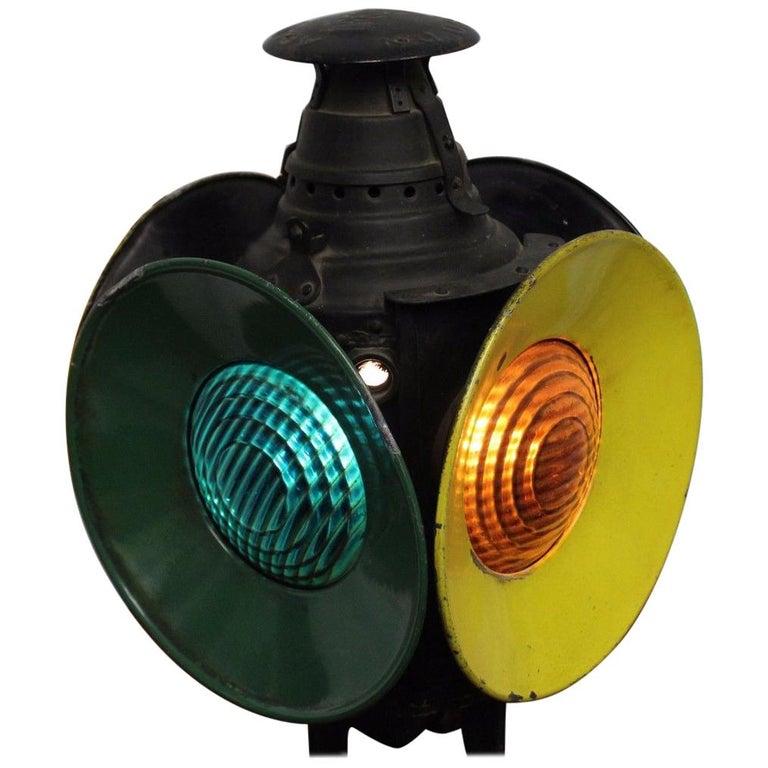 Early 1900s Railway Switch Lamp Railroad Light