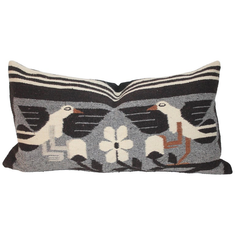 Mexican / American Indian Weaving Pillow For Sale