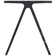 Alpha Q End Table or Stool, Concrete for Indoor or Outdoor by Mtharu