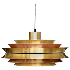 Carl Thore Trava Pendant Lamp by Granhaga Sweden Sigurd Lindkvist