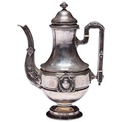 Antique Regency Style Silver Sterling Tea of Paris