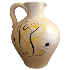 Ceramic Jug by André Baud, Vallauris
