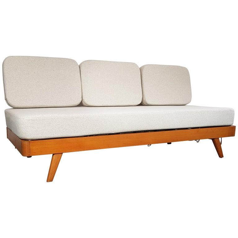 Vintage Danish Midcentury Three-Seat Daybed