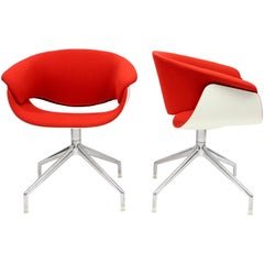 Sina Swivel Chairs by Uwe Fischer for B&B Italia, 2004, Set of Two
