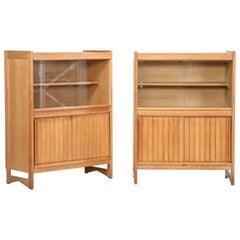 Guillerme et Chambron Cabinets for Votre Maison, 1960s, Set of Two