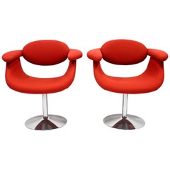 Captains Chairs by Eero Aarnio for Asko, 1960s, Set of Two