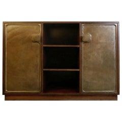 Bergwood Cabinet with Bronze Doors by Antoine Callebaut