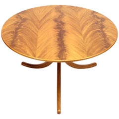 1020 Pyramid Mahogany Sofa Table by Josef Frank for Svenskt Tenn, 1980s