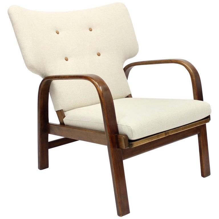 Easy Chair by Magnus Stephensen for Fritz Hansen, 1930s