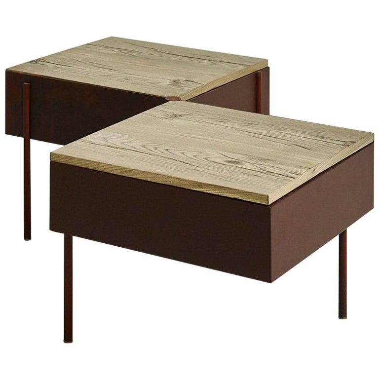 London Shelves Drawers Kitchen Contemporary With Stone And: Contemporary Writing Desk, Etched Brass, Pivoting Doors