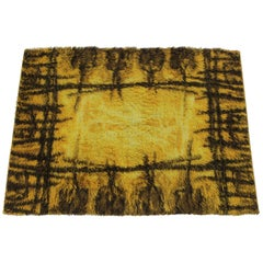 1970 Danish Midcentury Wool Rug