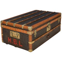 Antique 20th Century Beautiful Goyard Cabin Trunk, circa 1900