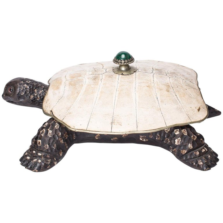 Unusual 20th Century Tortoise Container by Anthone Redmile, circa 1970