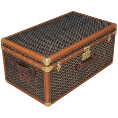 Antique 20th Century Rare Small Goyard Trunk, circa 1910