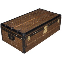 Antique 20th Century Louis Vuitton Monogram Cabin Trunk, circa 1910