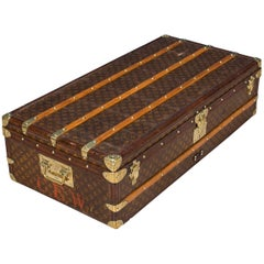 Antique 20th century Louis Vuitton Monogram Cabin Trunk, circa 1900