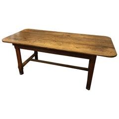 French Chestnut Farm Table