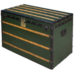 Antique 19th Century Louis Vuitton Early Steamer Trunk, circa 1870