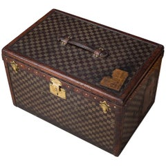 Antique 19th Century Extremely Rare Louis Vuitton Hat Trunk, circa 1890