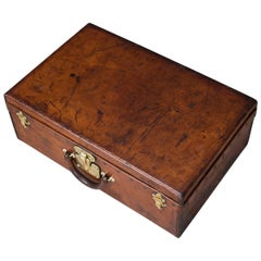 Antique 20th Century Louis Vuitton Suitcase in Cow Hide, circa 1900