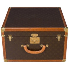 Stunning 20th Century Louis Vuitton Hat Case, circa 1950
