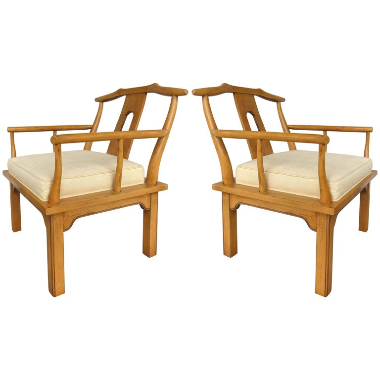 Midcentury Asian Modern Armchairs By The Century Furniture Company Classy Master Design Furniture Company