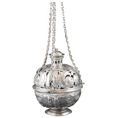 Silver Incense Burner, Spain, 17th Century