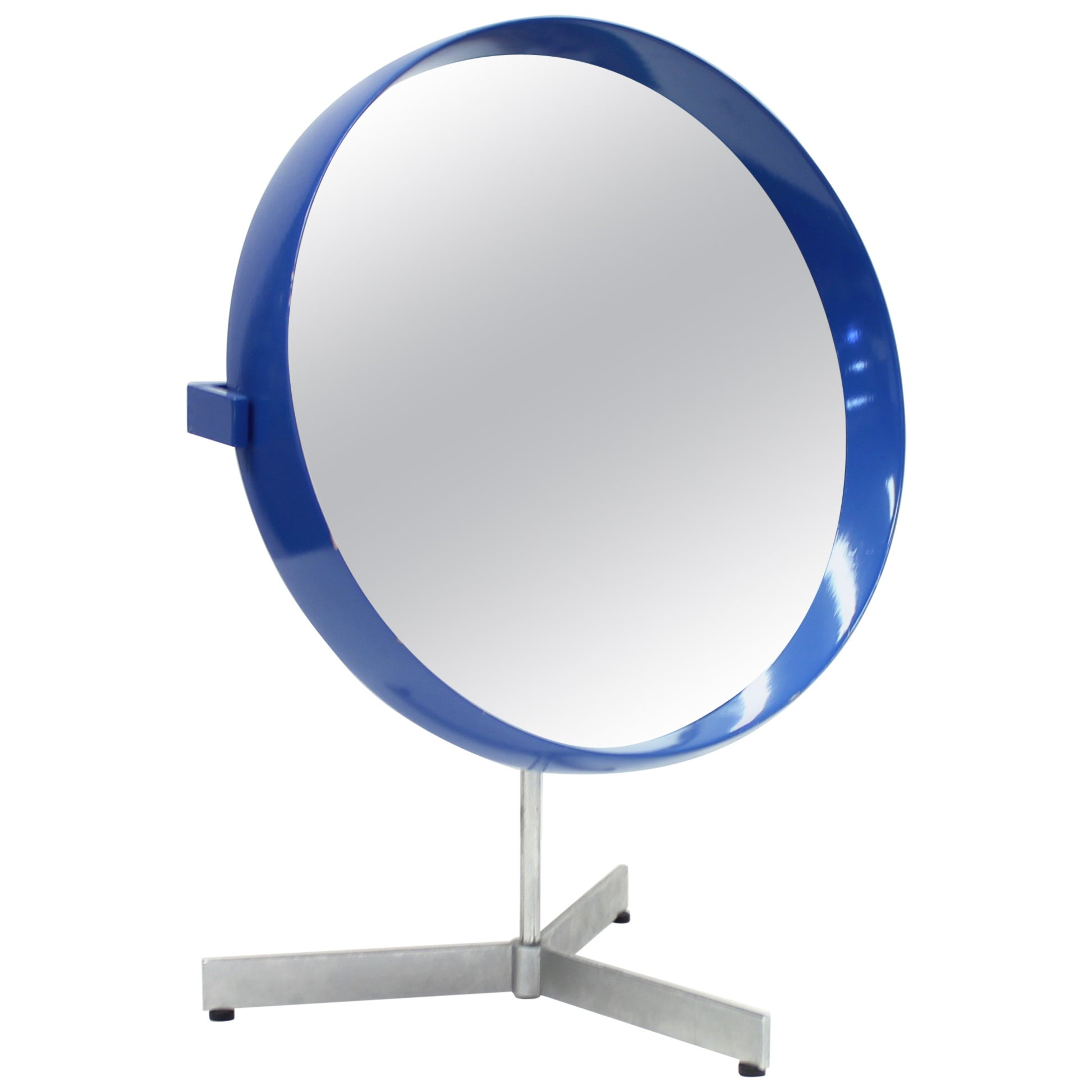 Table Mirror by Uno & Östen Kristiansson for Luxus Sweden, 1960s