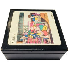 Picasso Drink Coasters in Box by S.P.A.D.E.M, Paris