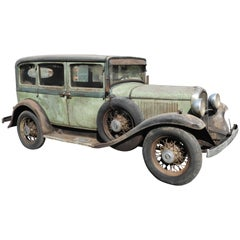 1932 Plymouh Commercial Original Patina Car