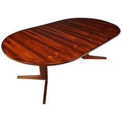 Midcentury Dining Table in Rosewood, circa 1960