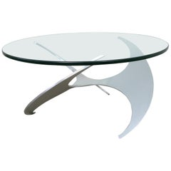 K9 Propeller Coffee Table by Knut Hesterberg for Ronald Schmitt, Germany, 1960s