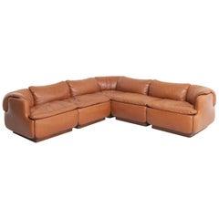 Confidential Sofa by Alberto Rosselli for Saporiti, 1970s
