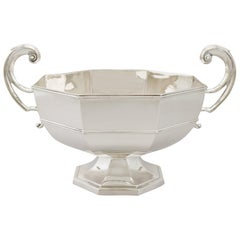 Antique Sterling Silver Presentation Cup / Bowl by Walker & Hall