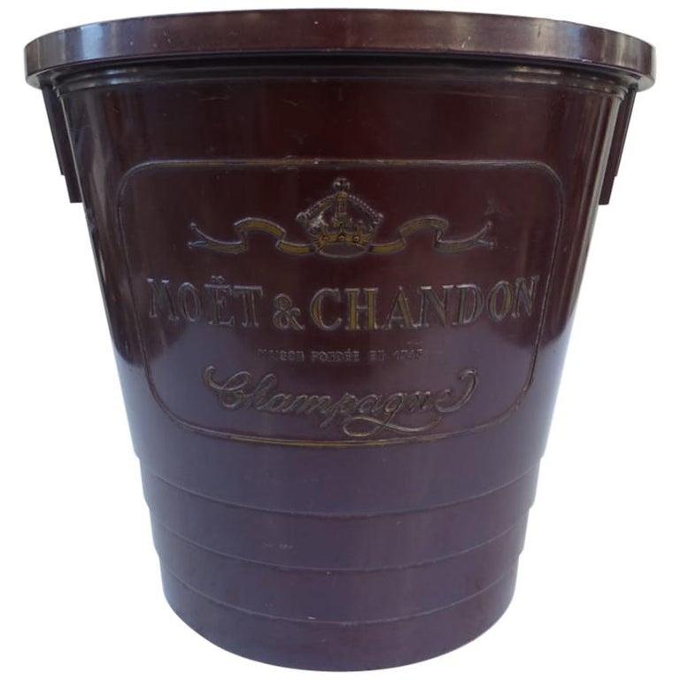 Bakelite Champagne Cooler–Moët and Chandon