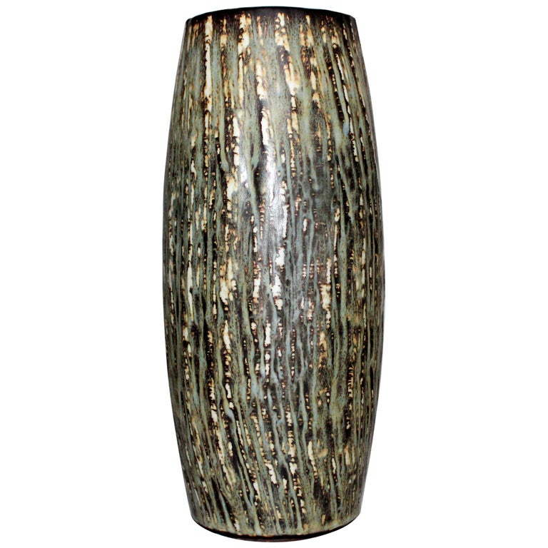 Midcentury Gunnar Nylund Ceramic Vase for Rörstrand