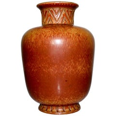 Midcentury Ceramic Vase by Gunnar Nylund for Rörstrand