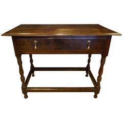 18th Century Oak Side Table