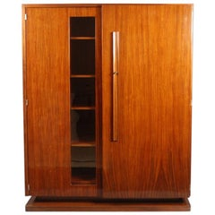 Andre Sornay, Armoire in Mahogany
